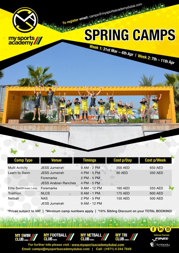 Spring Camp 2019